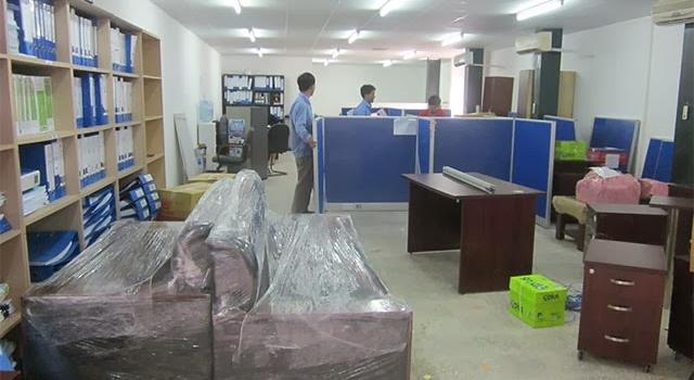 Dịch vụ chuyển văn phòng tại Nha Trang