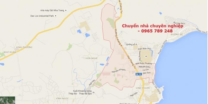 Dịch vụ chuyển nhà tại phường Vĩnh Hải Nha Trang