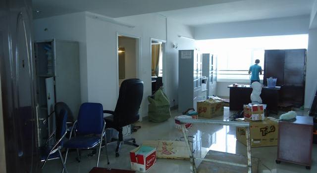 Chuyển văn phòng công ty Sông Đà 207 Nha Trang
